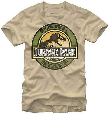 JURASSIC PARK - Park Staff:T-shirt - NEW - SMALL ONLY