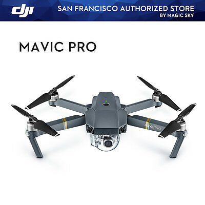 DJI Mavic Pro Folding Drone 4K Stabilized Camera Active Track Avoidance GPS