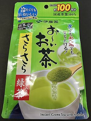 ITOEN Oi Ocha Green Tea Powder 80g 100 Cup Matcha Blended Instant MADE IN JAPAN