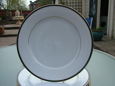 8 x Boots HANOVER GREEN dinner plates