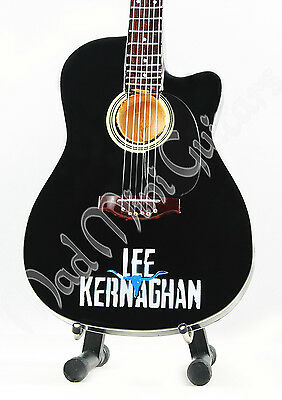 Miniature Guitar LEE KERNAGHAN with stand