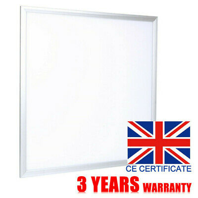 Ceiling LED Panel 600 x 600mm Pure Cool White Light 6500k Office Shop Warehouse