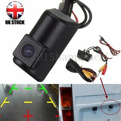 CCD Camera Kit For Ford Transit Connet Number Plate Lamp Reverse Night Sensor