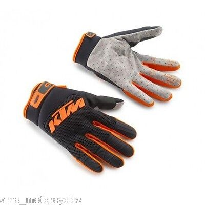 Genuine Ktm Powerwear Pounce Gloves 3Pw1622770 Motocross Enduro Mx