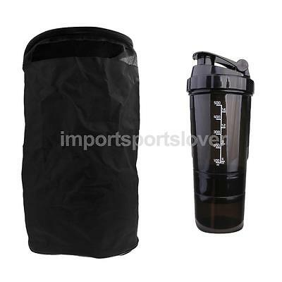Travelling Swimming Sport Bags+500ml Three Layer Mixer Cup Pill Storage Case