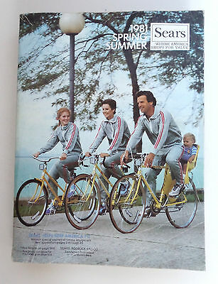 Sears Catalog 1981 Spring and Summer Vintage Dealer Reference Tool