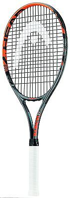 Head Radical 27 Raquette de tennis - Noir/Orange, grip 4