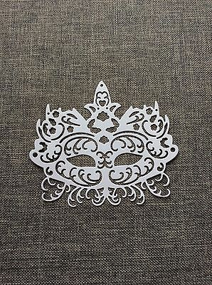 Tattered Lace Masquerade Mask Die-cuts Scrapbooking And Cardmaking 12pk