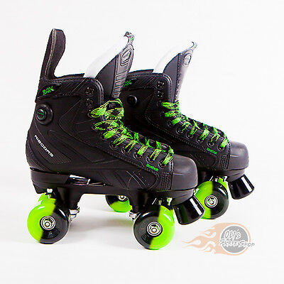 Reebok 24K Pump Quad Roller Skates - Bauer Style - Sims Street Snakes Wheels