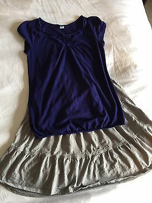 Old Navy Maternity Shirt And Skirt Size Medium