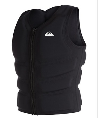 gilet wakeboard kite QUIKSILVER Impact Vest PFD black  life jacket EQYWP03000