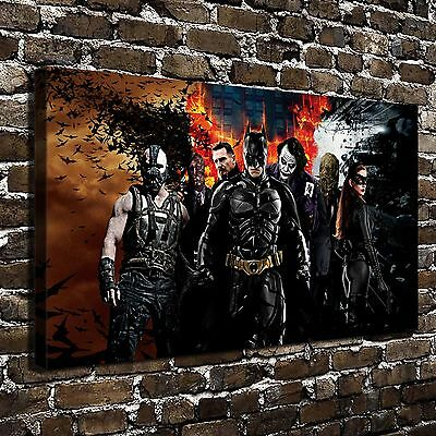 DC Batman Paintings HD Canvas Print Paintings Home Decor Wall Art Pictures