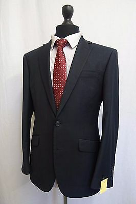Men's Marks & Spencer Tailoring Indigo Slim Fit Suit 38S W32 L29 SS8524