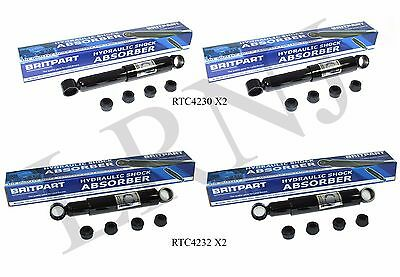"Land Rover Series Ii / Iia & Iii 58-74 Rear & Front 88"" Shock Absorber Set Of 4"