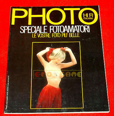 PHOTO HI FI ITALIANA N. 110 1984 Speciale Fotoamatori