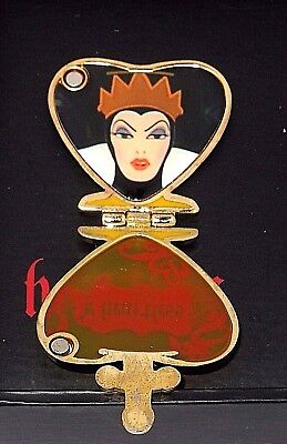 LE 250 Disney Pin✿Villain Love Heartbreaking Stained Glass Evil Queen Perfume 37