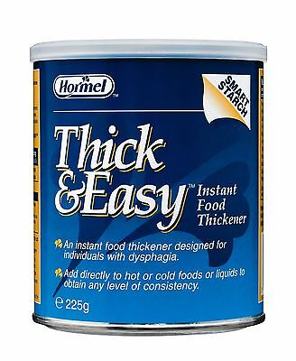 Thick and Easy Food Thickener 225g Instant food & drink thickener for dsyphagia