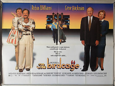Cinema Poster: BIRDCAGE, THE 1996 (Quad) Robin Williams Gene Hackman Nathan Lane