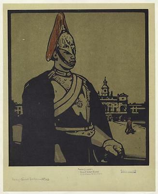 British Empire Army Soldier Royal Horse Guard 1890s, 6x5 Inch Print