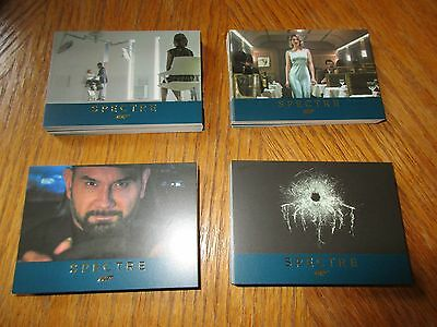James Bond Archives 2016 Complete 76 Card Gold Parallel SPECTRE Base Set #'d 125