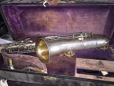 Wurlitzer American Low Pitch C Melody Saxophone