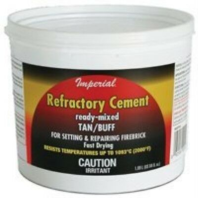 Cement Refactory 128oz Tan/Buf