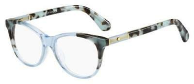 KATE SPADE Eyeglasses JOHNNA 0XP8 Blue Havana Blue 50MM