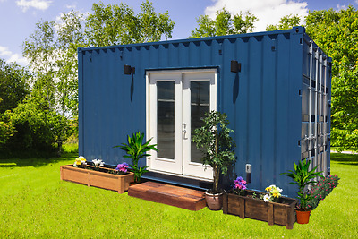 20' Shipping Container Home / House / Studio / Cabin - 160 Sqft. - Custom Finish