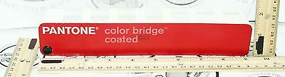 Pantone Matching Color Bridge Guide Coated Ggs201 Reference Tool - 2Nd Printing