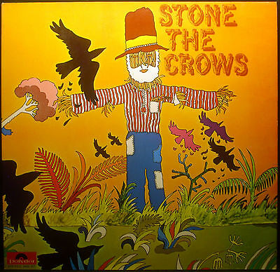LP stone the crows - STONE the crows, FOC, Polydor