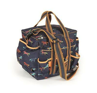 Shires Horse Print Grooming Bag, Storage bag, Tack bag