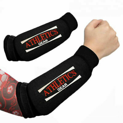 Forearm Pads Protector Brace Support Guards MMA Padded Protection Athletics Gear