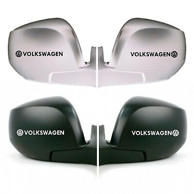 FOR VOLKSWAGEN VW  2 x Wing Side Mirror DECAL STICKERS Fits POLO GOLF SCIROCCO