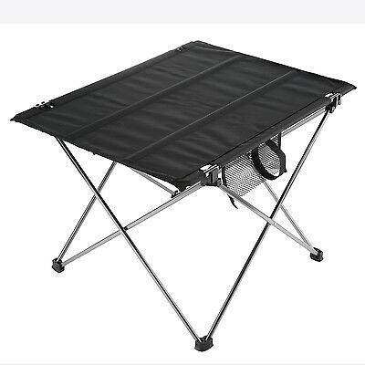 Folding Camping Table Ultralight Portable Hiking Picnic Table with Carrying Bag