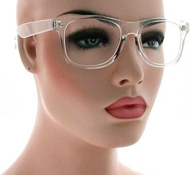 Classic Retro Clear Lens Glasses Strike Fashion Men Women Square Clear Frame