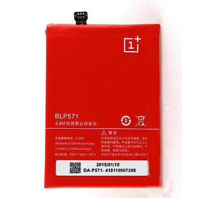 Original Replacement Battery BLP571 3100mAh for ONEPLUS ONE ONE Plus 1+ A0001