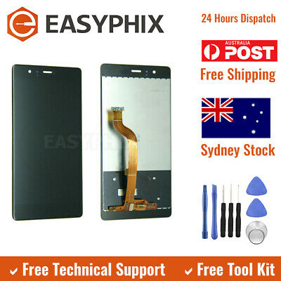 LCD Display Digitizer Touch Screen Glass Assembly for Huawei P9 Black