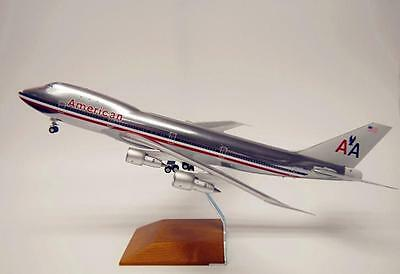GeminiJets 1/200 Diecast Aircraft Model,B747-100,American Airlines,G2PAAL623