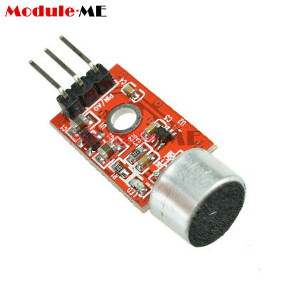 2PCS 3.3V/3.5V MAX9812 Microphone Amplifier Sound MIC Voice Module for Arduino M