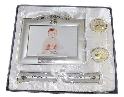 On Your First Communion Photo Frame Certificate Keepsake Gift Christening