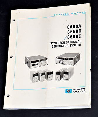 Service Manual für HP 8660C Synthesized Signal Generator System