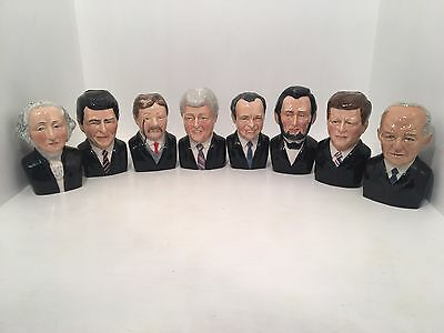 Manor Collectables Full Set of 8 American Presidents LIMITED EDITION SAME NUMBER