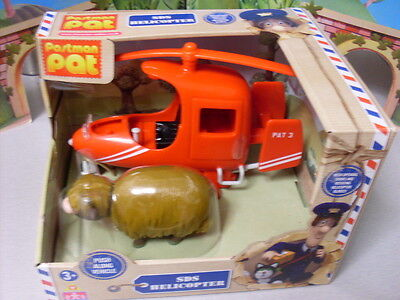Postman Pat Special Delivery Service Sds Helicopter With Daisy Cow