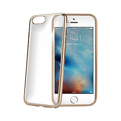 Celly  iPhone 7/8 Laser Cover gold A LASER800GD