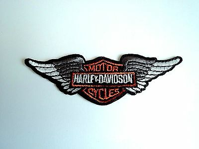1x Harley Wings Biker Patches Embroider Cloth Patch Applique Badge Iron Sew On