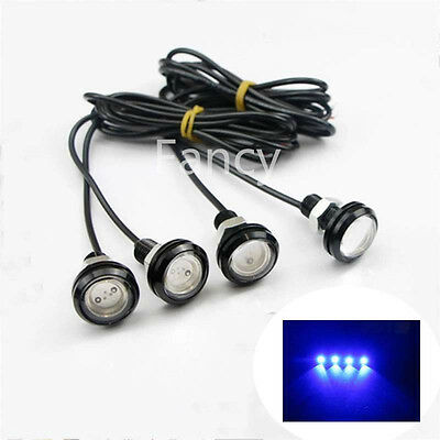 4x Blue /White / Green / Red LED Boat Light Waterproof 12v Outrigger Spreader Tr