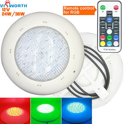24w 36W led swimming pool light IP68 ac/dc 12V Outdoor Lighting RGB led Underwat