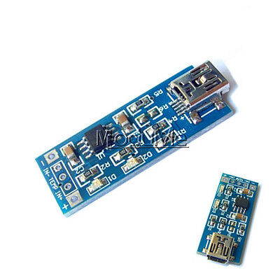 New 5V Mini USB 1A Lithium Battery Charging Board Charger Module IN 4V-8V MO