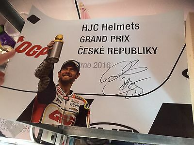 Signed Cal Crutchlow Large Brno Win Photo.