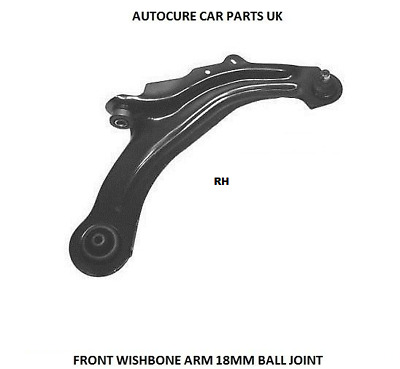 For Renault Scenic Mk2 2003-2009 Lower Front Left Wishbone Suspension Arm